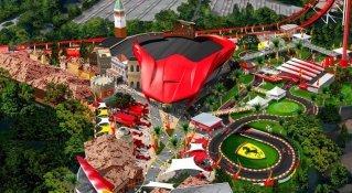 Ferrari Land, el nuevo parque temático de Port Aventura en 2017
