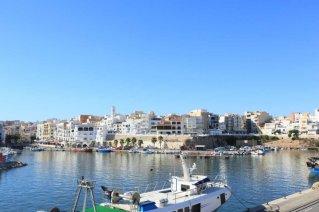 Vista panoramica del puerto Ametlla de Mar