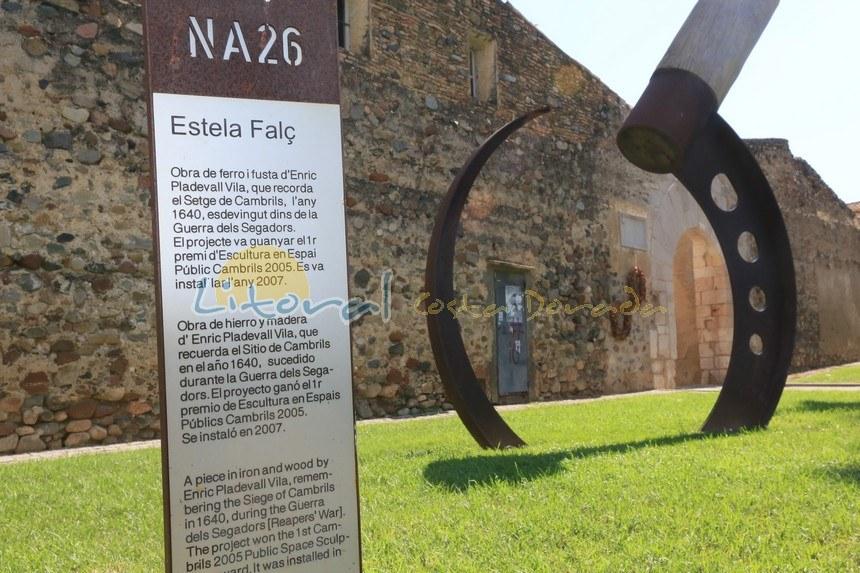 """Muralla de Cambrils en """"La Vila"""""""