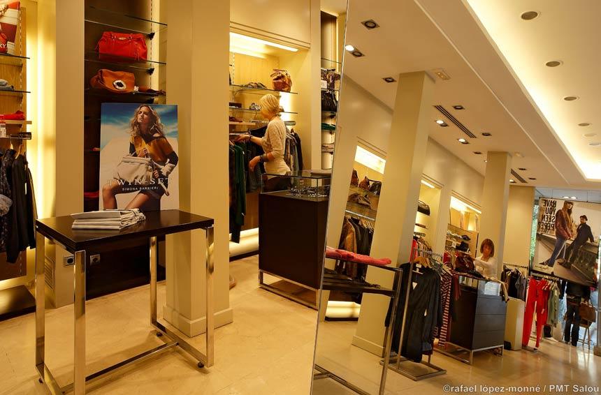 De compras por Salou