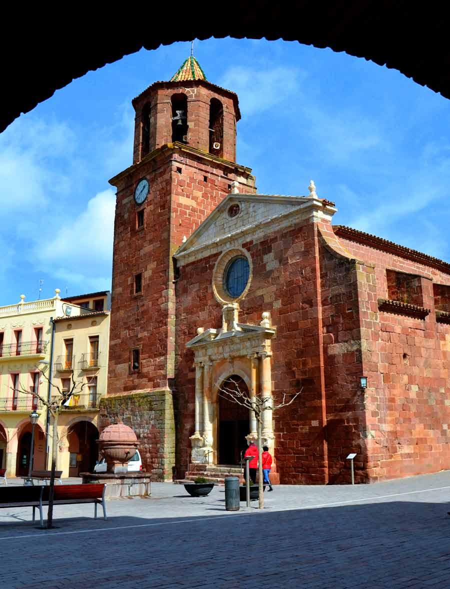 iglesia de Prades