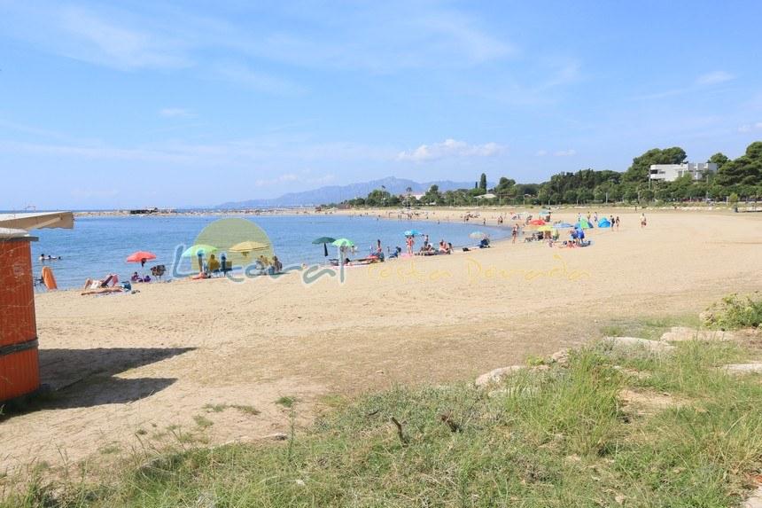 Playa el Dorada en Cambrils