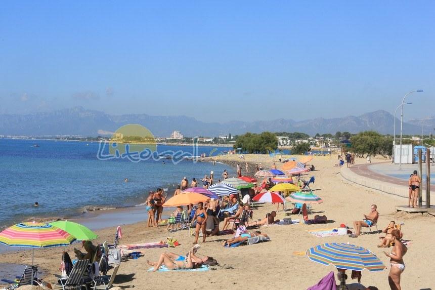 playa de la Riera Cambrils