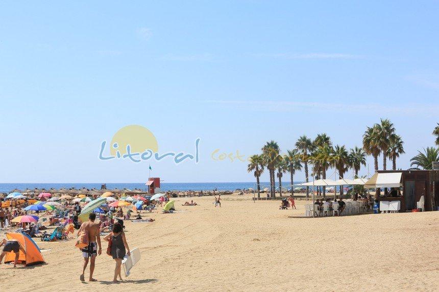 Playa la Ardiaca en Cambrils