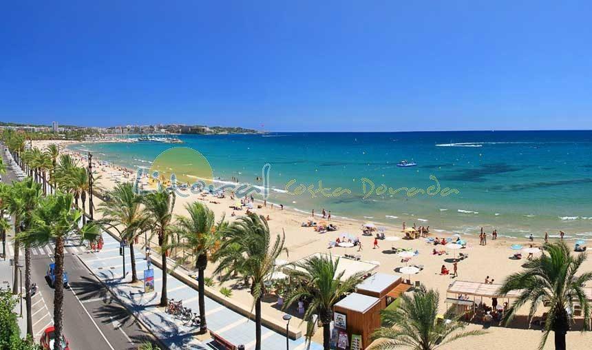 Playa de Poniente en Salou