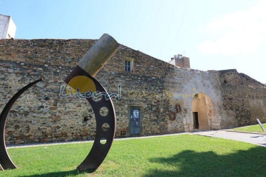muralla del setge en el casco antiguo de Cambrils