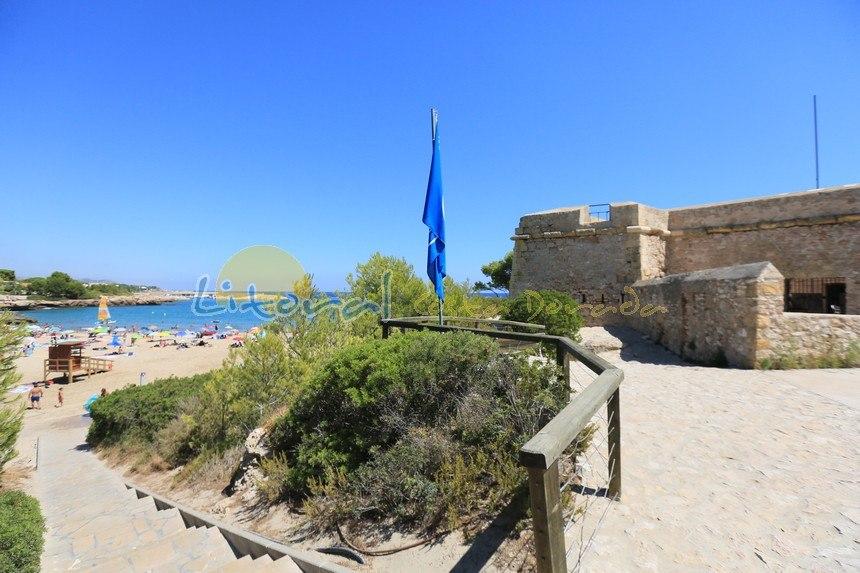 playa sant jordi en Ametlla de Mar, costa dorada