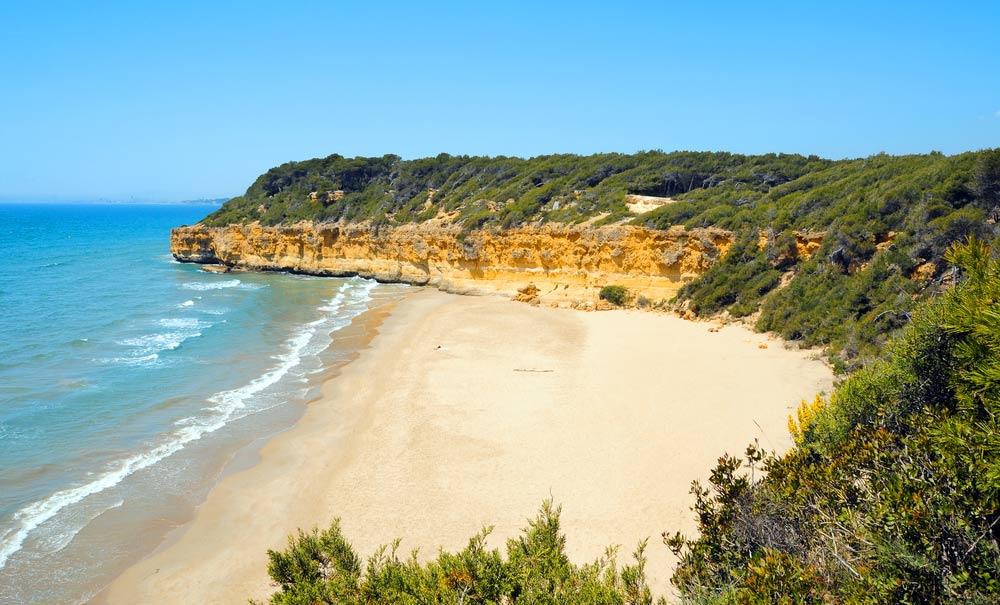 playa cala Fonda en Tarragona