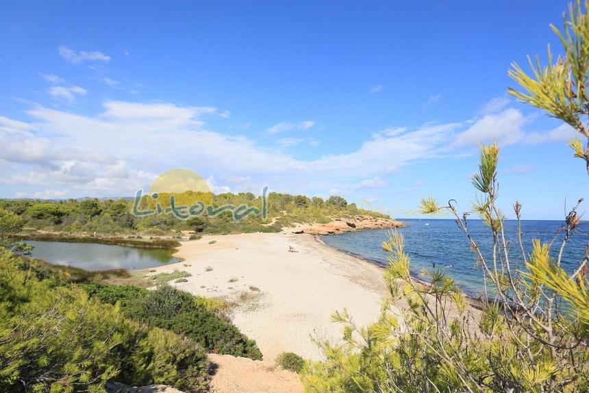 playa Santes Creus ametlla de mar