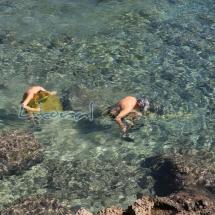 Aguas cristalinas de l'Ametlla de Mar