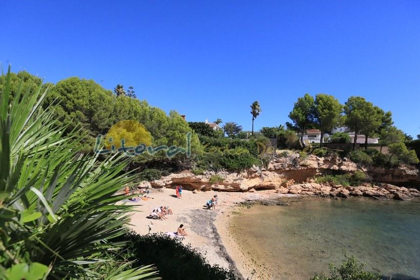 Cala LLobeta en Calata, ametlla de mar