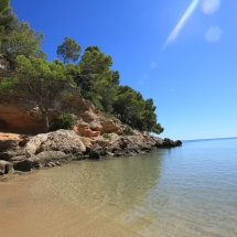 Cala Calafato en Ametlla de Mar