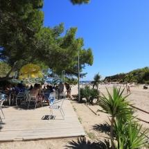 restaurante de la playa cala forn en ametlla de mar