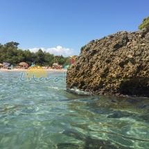 aguas cristalinas en ametlla de mar