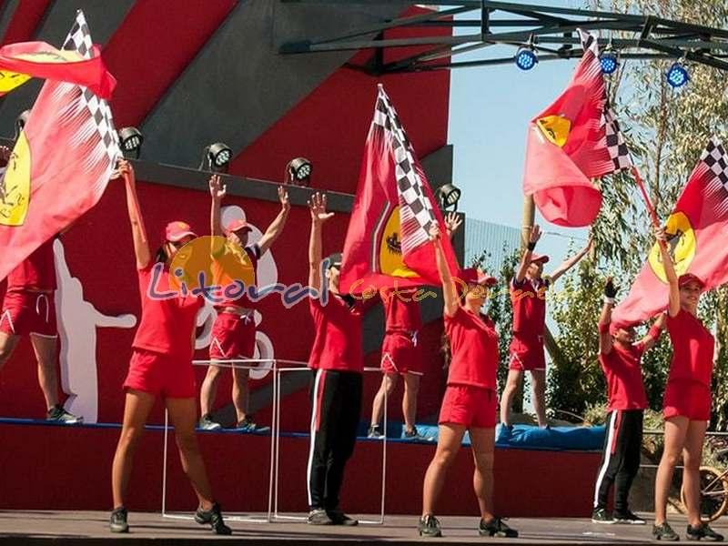 Espectaculos en Ferrari Land