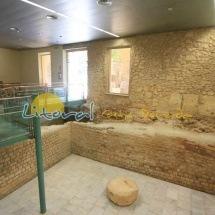 Restos arqueologicos de la maqueta romana de Tarragona
