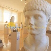 Esculturas interior museo nacional arqueologia de Tarragona