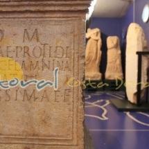 Interior del museo de la necropolis paleocrisitiana de tarragona