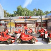 Atraccion el Latigo en Ferrari Land