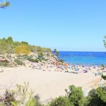Playa Cala Forn en la Tres Calas, Ametlla de Mar