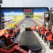 El Latigo en Ferrari Land