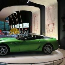 Exposicion coches de Ferrari