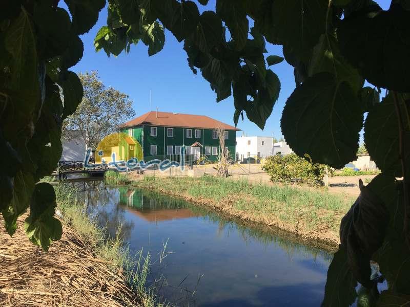 La casa de Fusta en el Delta del Ebro