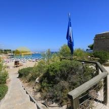 Playa del Castillo de Sant JOrdi d'Alfama en Ametlla de Mar