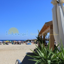 Playa Sant Jordi d'Alfama en Ametlla de Mar