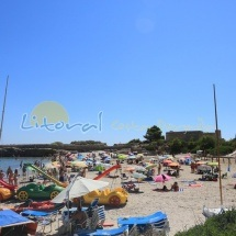 Playa Sant Jordi en Ametlla de Mar , Las Tres Calas
