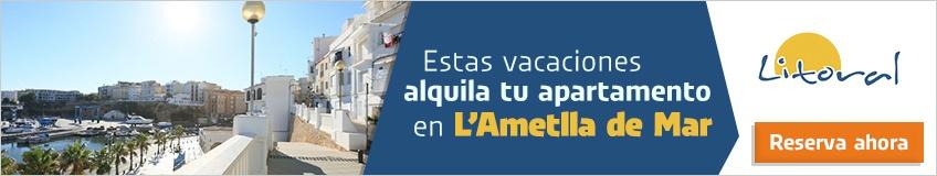 alquiler de alojamientos vacacionales en Ametlla de Mar