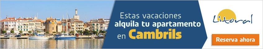 alquiler de alojamientos vacacionales en Cambrils