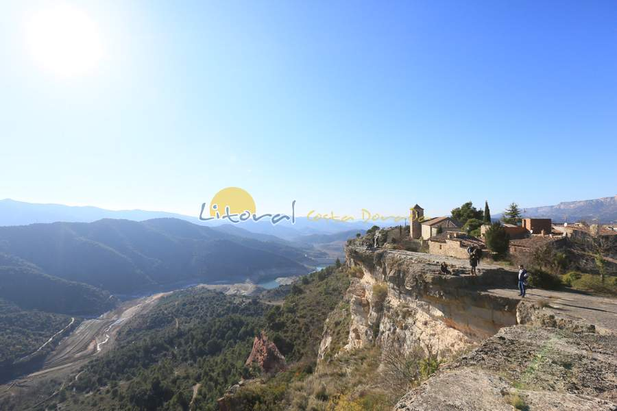 Vista panorámica desde el mirador de Siurana