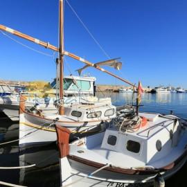 Barcos tradicionales en el puerto de l'Ametlla de Mar