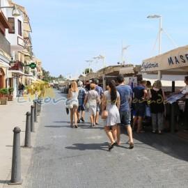 Restaurantes del puerto de Cambrils