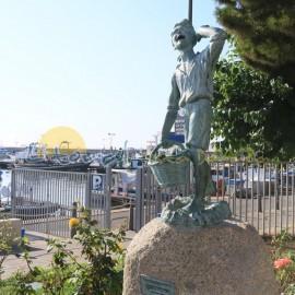 Esculturas del puerto de Cambrils