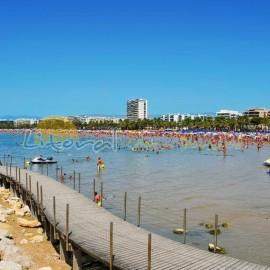 Playa de Lenvant en Salou