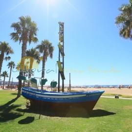 Jardines de la playa de Levante