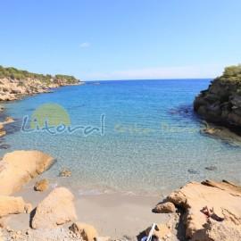 Playa L'Ilot de l'Ametlla de Mar