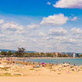 Playa municipal de La Pineda de Salou