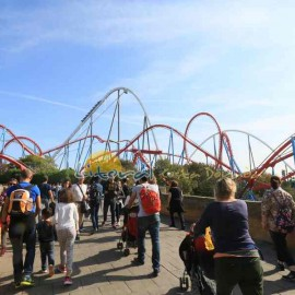 Dragon Khan en Portaventura