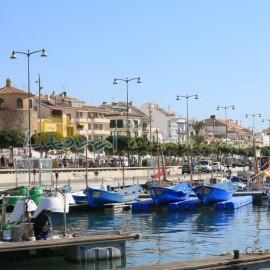 Vista panorámica del puerto de Cambrils