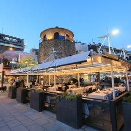 Restaurante del puerto de Cambrils